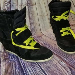 Shoes - WEDGE SNEAKERS